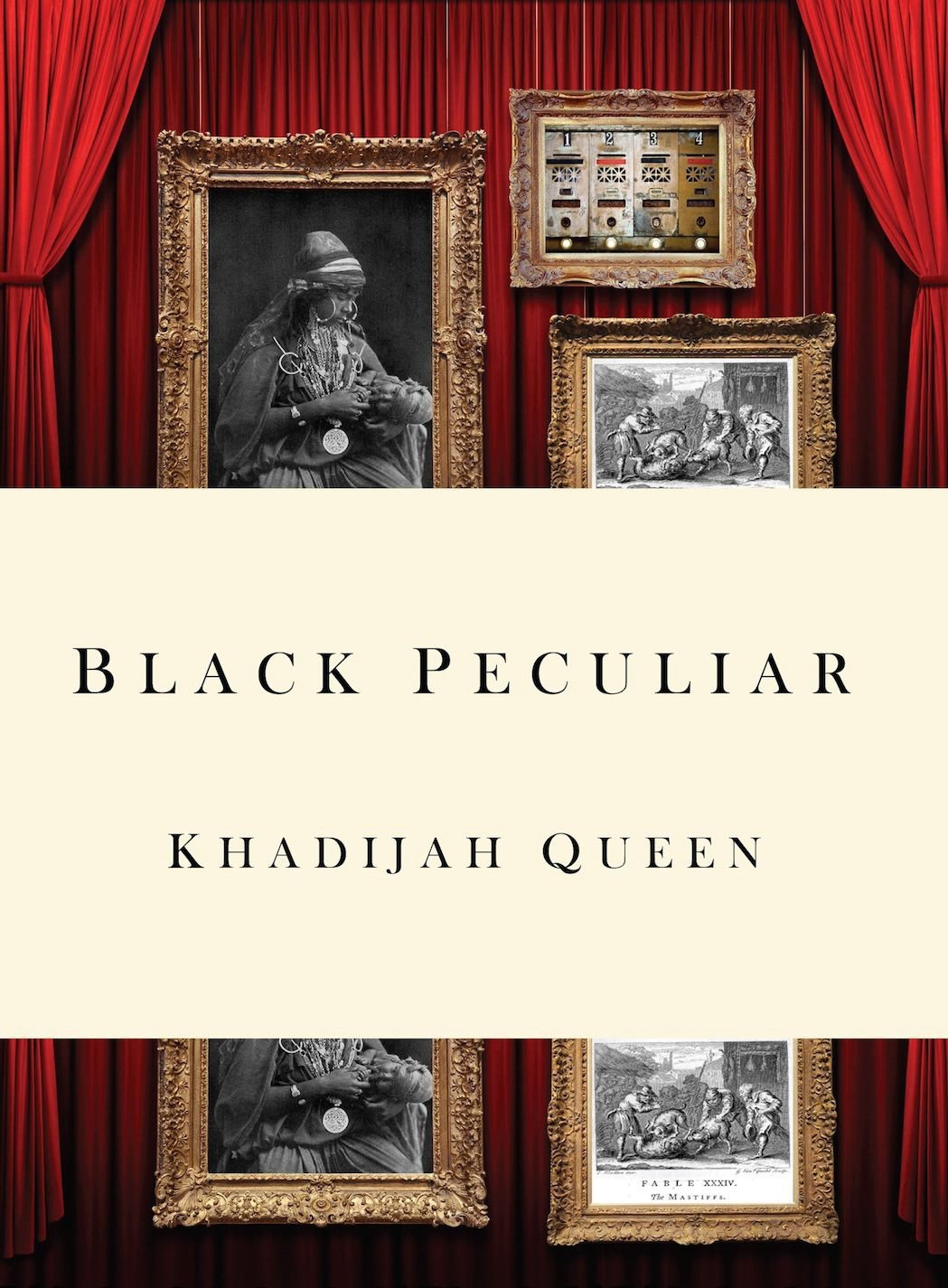Black Peculiar book cover