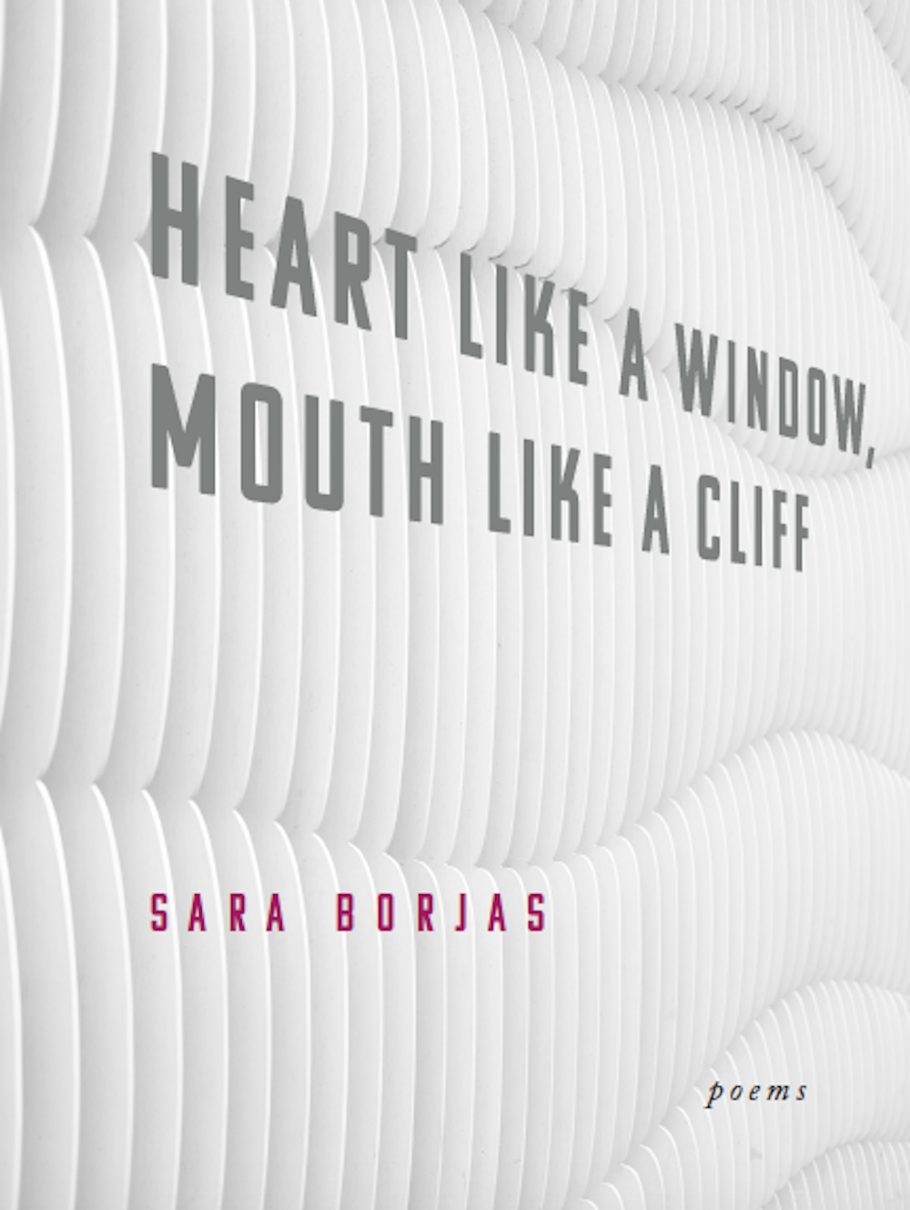 Heart like a Window, Mouth like a Cliff by Sara Borjas